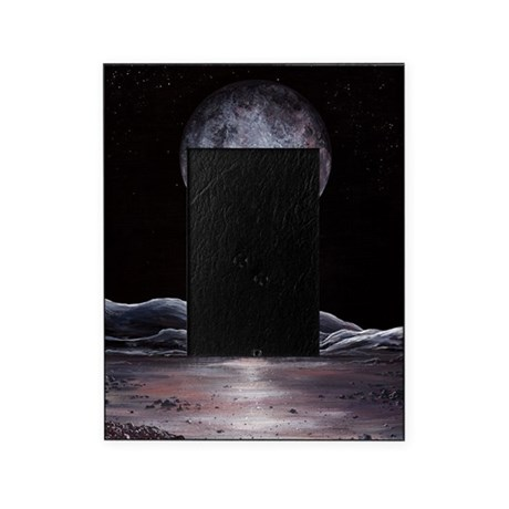 Pluto seen from Charon, artwork Picture Frame