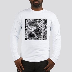 Piano Music Quotes Long Sleeve T-Shirt