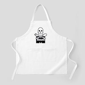 Monsanto_skull Apron