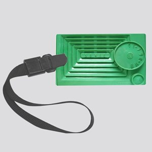 Vintage Green Sonic Radio Should Large Luggage Tag