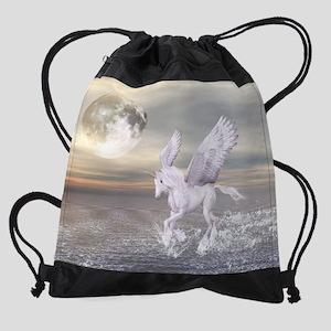 Pegasus-Unicorn Hybrid Drawstring Bag