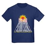 Global Warming Pseudoscience Kids Dark T-Shirt