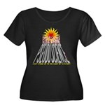 Global Warming Pseudoscience Wmn Plus Sz Scoop Tee