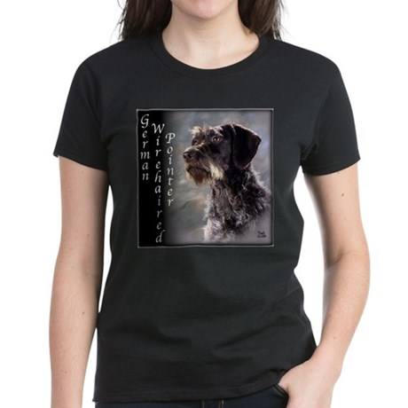 German Wirehaired Pointer Women's Dark T-Shirt