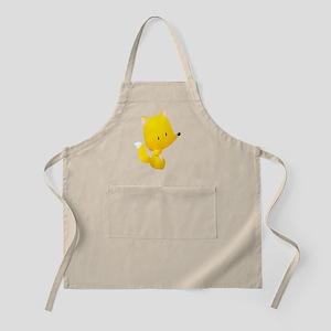 Yellow Fox for Kids Shirt Apron