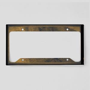 Halibut License Plate Holder