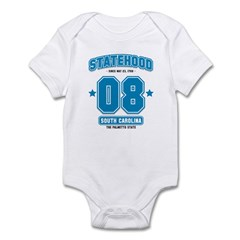 Statehood South Carolina Infant Bodysuit