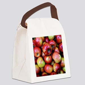 Red Apples Canvas Lunch Bag