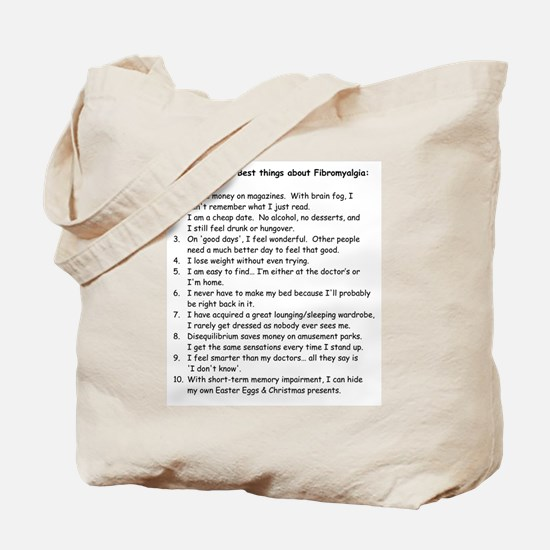 Top 10 for Fibromyalgia Tote Bag