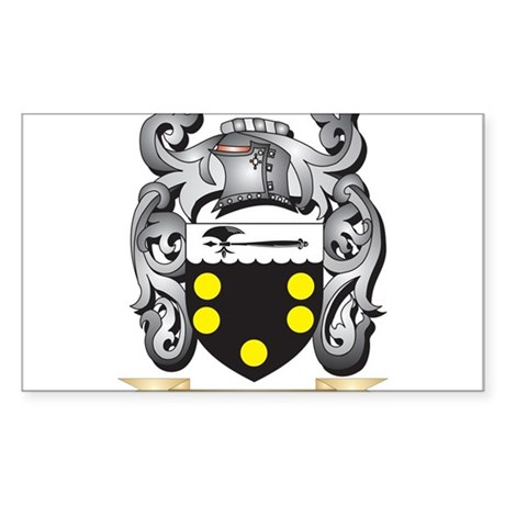 Nickson Coat of Arms - Family Crest Sticker