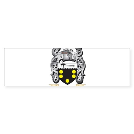 Nickson Coat of Arms - Family Crest Bumper Sticker