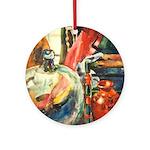 Still Life w/Bottle by Elsie Ornament (Round)
