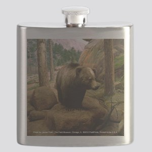 Bear In The Woods Flask