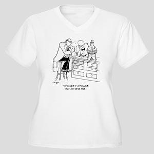 Of Course Its Imp Women's Plus Size V-Neck T-Shirt