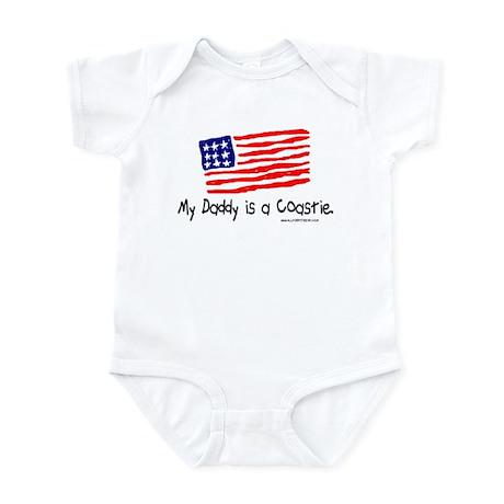 My Daddy is a Coastie. Infant Bodysuit