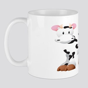 Cute Cow Shirt Mug
