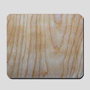 Chic Wood Grain Pattern Designer Mousepad