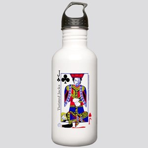 Jack of Twisted Clubs Stainless Water Bottle 1.0L
