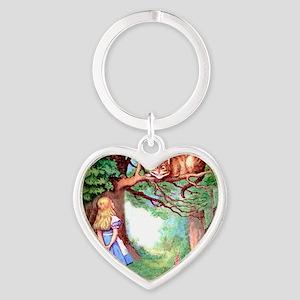 ALICE_12_SQ Heart Keychain