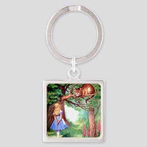 ALICE_12_SQ Square Keychain