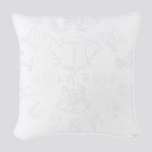 Trophy Husband Since 2013 whit Woven Throw Pillow