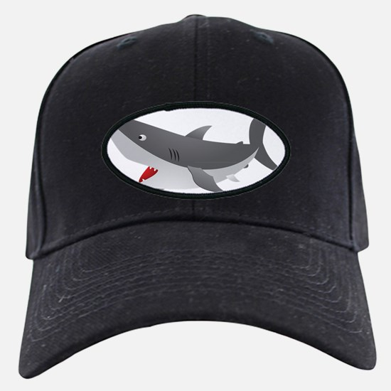Shark Attack Shirt for Kids Baseball Hat