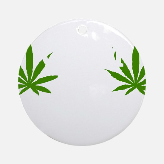 mj59dark Round Ornament