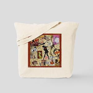 Music Mania Tote Bag