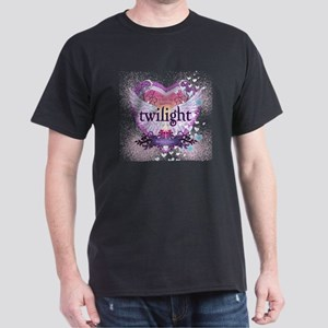 Twilight Breaking Dawn Winged Heart Dark T-Shirt