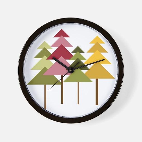 Pine Street Wall Clock