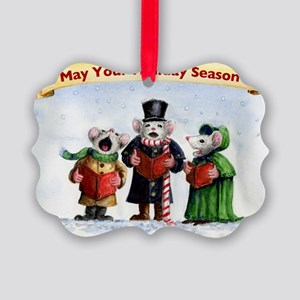 Singing Mice Picture Ornament