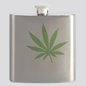 I Love Marijuana Flask