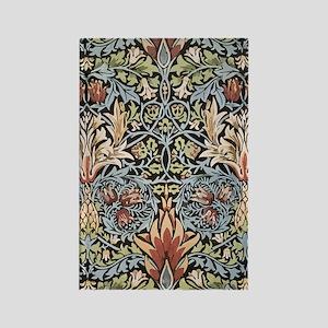 William Morris Design Rectangle Magnet