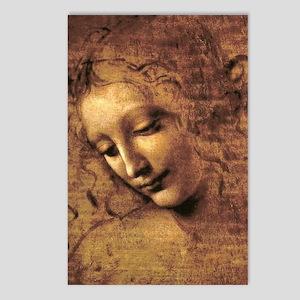 Leonardo Da Vinci La Scap Postcards (Package of 8)