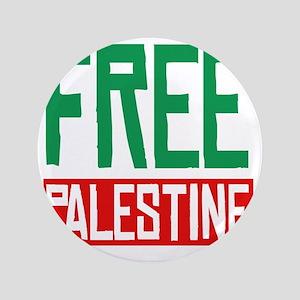 "Free Palestine 3.5"" Button"