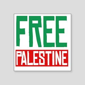 "Free Palestine Square Sticker 3"" x 3"""