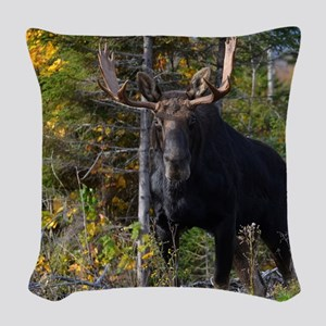 647_h_f gel pad Woven Throw Pillow