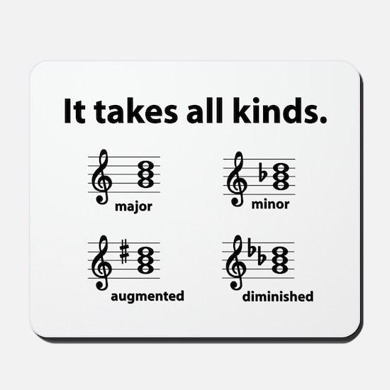 All Kinds Triads Mousepad