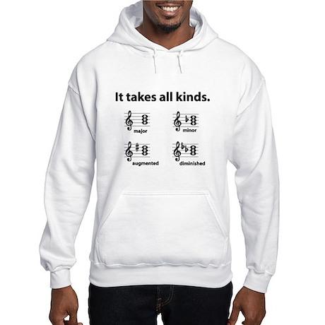 All Kinds Triads Hooded Sweatshirt