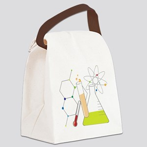 Chemistry Stuff Canvas Lunch Bag