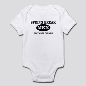 Spring Break Playa Del Carmen Infant Bodysuit