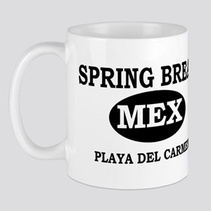 Spring Break Playa Del Carmen Mug
