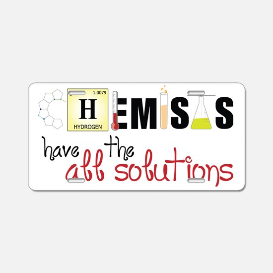 All The Solutions Aluminum License Plate