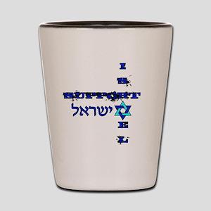 Support Israel Shot Glass