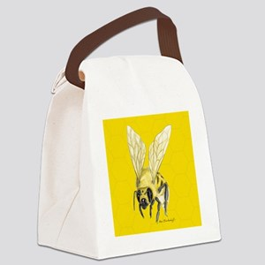square_bee Canvas Lunch Bag