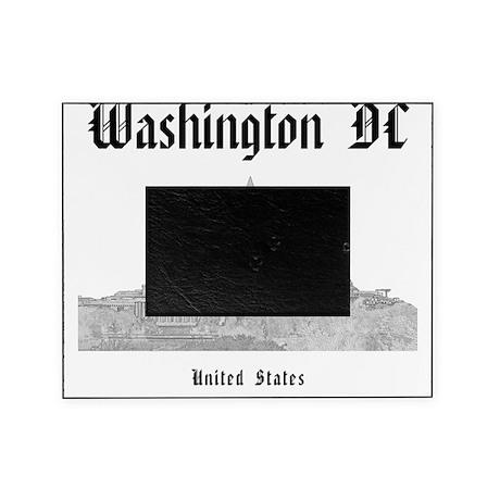 WashingtonDC_12x12_Skyline_Black Picture Frame