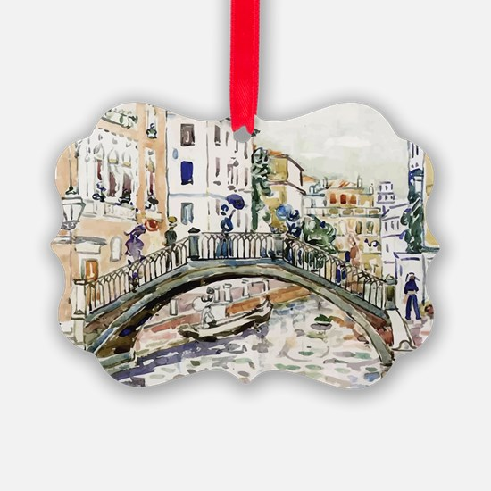 Maurice Prendergast Little Bridge Ornament