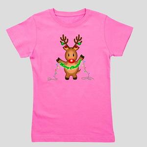 Merry Deer Girl's Tee