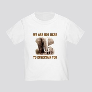 We Are Not Here Toddler T-Shirt