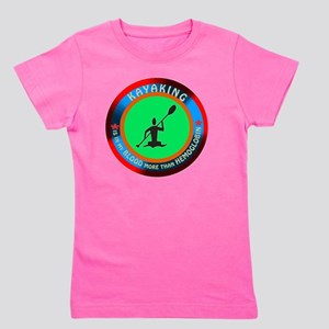 Kayaking designs Girl's Tee